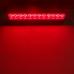 Break Light Luz de Freio 12 leds Iluminação Vermelha