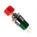 Botão Push Botton Vermelho ou Preto Funcionamento Sob Pressão