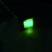 Chave Gangorra Quadrada 4 Pinos iluminada Verde KCD4 110/220v