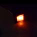 Chave Gangorra Quadrada 4 Pinos iluminada Vermelha KCD4 110/220v