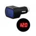 Voltímetro Digital Plug de Isqueiro 12/24v