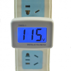 Voltímetro de Tomada Bivolt Escala de Trabalho 80 a 300v